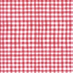 SALE: Decopatch Paper: Gingham Red #280, 3pack