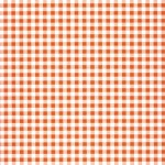 SALE: Decopatch Paper: Gingham Orange #322, 3pack