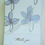 Mini Thank You &#8216;Blossom&#8217; 10 cards &#038; envs