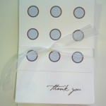 Mini Thank You &#8216;Dots&#8217; 10 cards &#038; envs